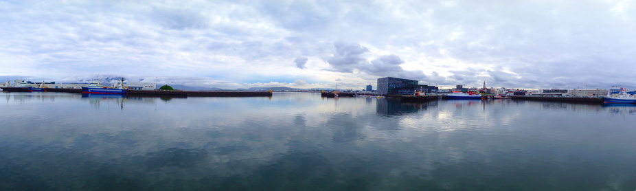 Reykjavik - view on Harpa concert hall
